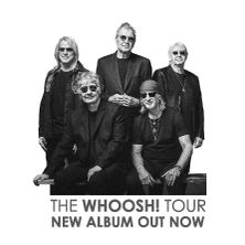 Билеты на DEEP PURPLE - THE WHOOSH! TOUR